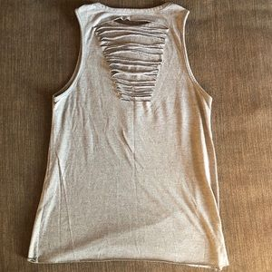 Prince Tops - Prince when doves cry distressed back tank